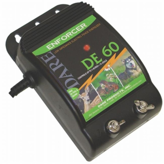 Dare Products Inc Electric Fence Controller- Black 10 Mile - DE 60sog BC013106